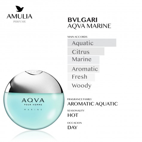 Parfum Bvlgari Aqva Marine